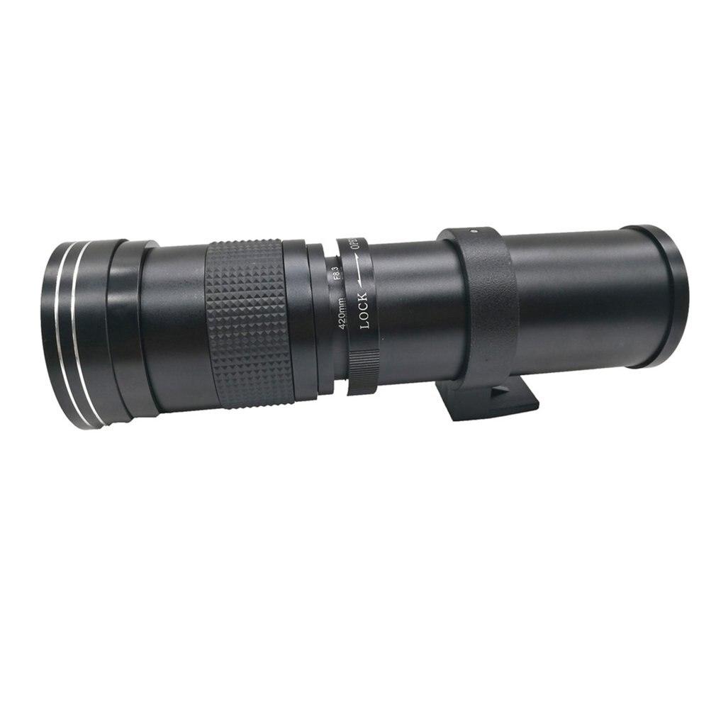 JINTU 420-800mm Téléobjectif pour Nikon D7500 D7200 D5600 D5500 D3400 D5 D810 - 3