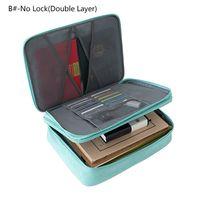 Document Ticket Storage Bag Large Capacity Lock Design Files Organizer Home Trip