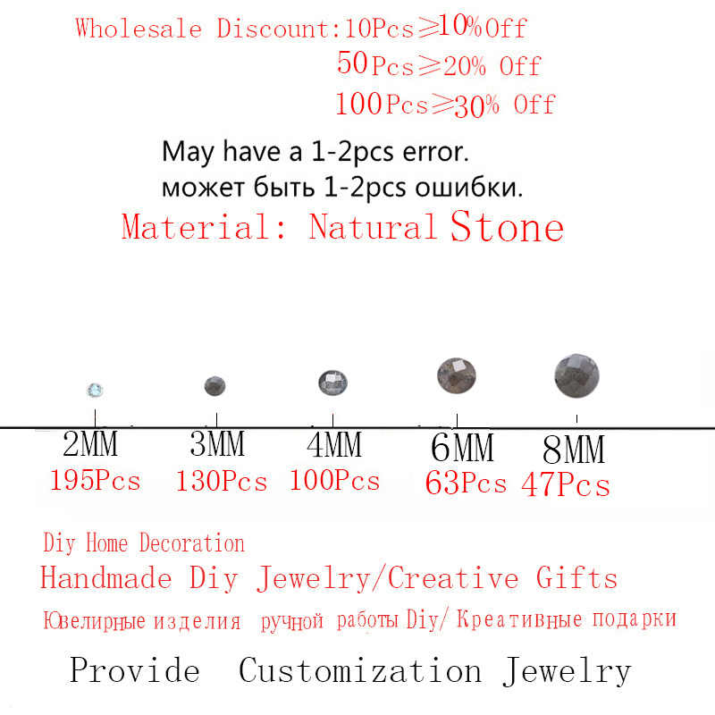 Wertvolle Natürliche Mondstein Facettierten Labradorit Kleine Stein Perlen Für Schmuck Machen 2/3/4/6/8mm DIY Halskette Armband Ohrring
