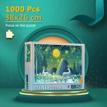 Mini Jigsaw Puzzle 1000 Pieces 38x26 cm Assembling Picture Puzzle For Adults Educational Toys Puzzles Pare Adultos