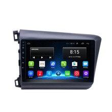 4G LTE Android 8,1 Fit HONDA CIVIC 2012 2013 мультимедийный стерео автомобильный dvd-плеер навигация gps радио