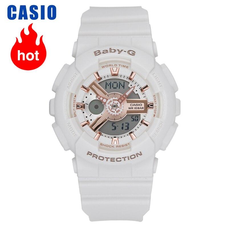 Casio watches fashion sports ladies watches BA 110RG 7A|Women's Watches| |  - title=