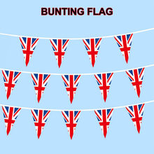 Best Sale 5m 14pcs Union-bunting Party Decor British Vintage Full Flag Patriotic Uk Party Decoration День Рождения Декор @45(China)