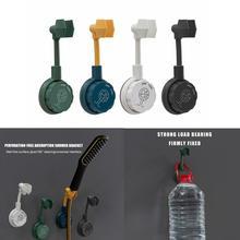 Punch-Free Universal Adjustable Shower Bracket Bathroom Shower Head Holder Nozzle Adjustment Adjusting Bracket Base Mount