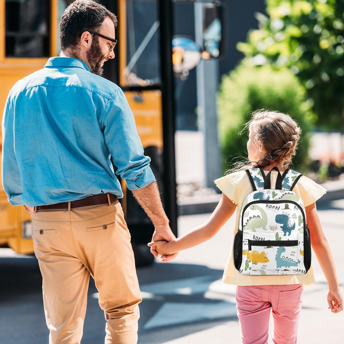 meninos escola do jardim de infância mochilas