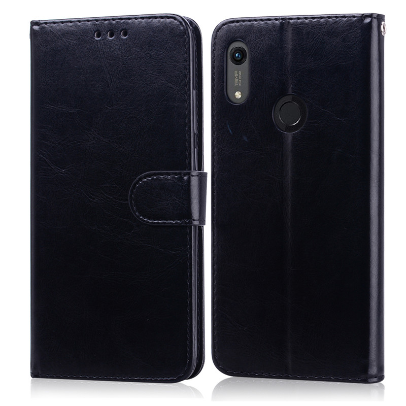 For Huawei Honor 8A Case on for Huawei Honor 8A Case Leather Wallet Flip Case For Honor 8A a8 JAT-LX1 Case Cover Coque