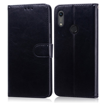 For Huawei Honor 8A Case on for Huawei Honor 8A Case Leather Wallet Flip Case For Honor 8A a8 JAT-LX1 Case Cover Coque фото