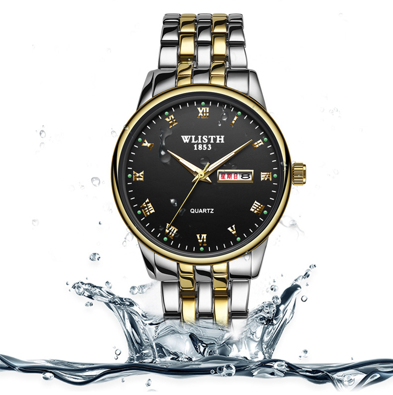 relógio de quartzo para homens e mulheres