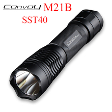 Convoy M21B with Luminus SST40 LED Flashlight EDC Lanterna 2