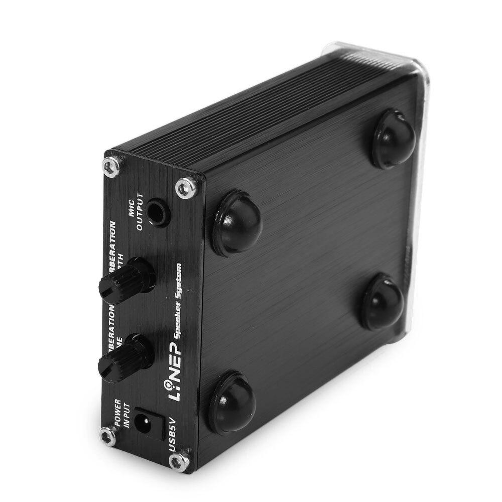 A907 Microphone Sound Amplifier Mini Mic Audio Amplifier Mic Reverberation 2 Channel For Karaoke Dynamic Microphone