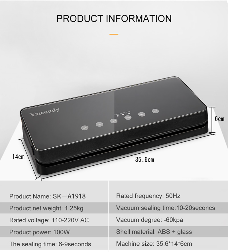 Electronics - Best Portable Food Vacuum Sealer With Free bags 10pcs Sealing Machine Packaging Machine