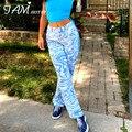 Прямые брюки-Капри Y2K с принтом зебры, женские Мешковатые повседневные винтажные капри в стиле Харадзюку с высокой талией, женская уличная о...