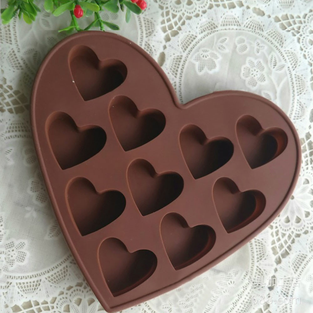 Christmas Design Silicone Baking Molds Made of High Quality Food Grade Silicone Material For Chocolate 2