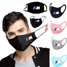 Washable Mask Power-Breathing-Mask Anti-Dust-Mouth-Mask Cycling Bmw M Respirator Print