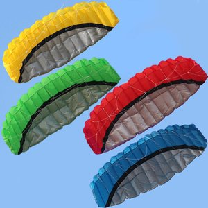 2,5 м двойной линии каскадер парашют мягкий параплан парус серфинг кайт мощность Спорт Кайт огромный большой Открытый Активность пляж Летаю...
