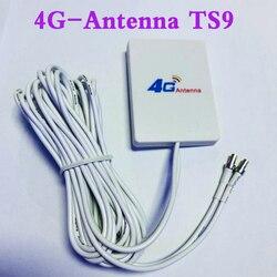 3G 4G Antenas Externas para E5573 E5372 E5776 E5377 E5577 E8372 E5878 E398 E TS9 4G Router LTE 28dbi Antena com 3m cabo