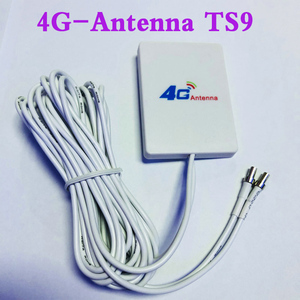 3G 4G External Antennas for E5573 E5372 E5776 E5377 E5577 E8372 E5878 E398 E 28dbi TS9 4G LTE Router Antenna with 3m cable(China)