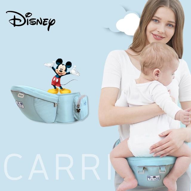 Disney ergonómico bebé infantil chico bebé del abrigo de la Honda frontal canguro bebé abrigo del portador de bebé de 0-18 meses