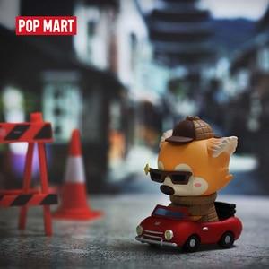Image 3 - POP MART Goobi the kid fox  Lil foxes summer Series animal story toys Blind Box Doll Binary Action Figure Birthday Gift