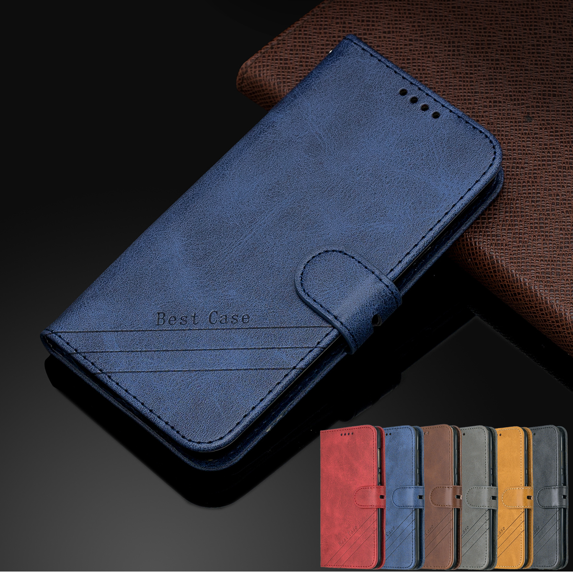 Coque For <font><b>Huawei</b></font> Y5 Lite 2018 <font><b>DRA</b></font>-LX5 Case Leather Flip Cover <font><b>Huawei</b></font> Y5 2018 <font><b>DRA</b></font> LX2 <font><b>L21</b></font> Protect Mobile Phone Case Y5 Prime 2018 image
