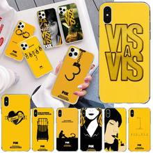 CUTEWANAN Spanish TV series locked Vis A Vis TPU Phone Cover for iPhone 11 pro XS MAX 8 7 6 6S Plus X 5S SE 2020 XR cover трусы vis a vis vis a vis vi003ewsoq12