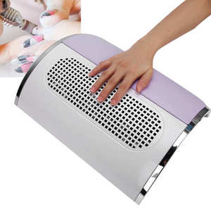 Manicure Vacuum Cleaner Nail Dust Collector Nail Dust Suction Fan Strong Power Low Noise Nail Fan for Nail Beauty Salon EU Plug