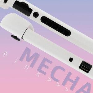 Image 3 - Carcasa protectora rígida para Nintendo Switch, carcasa protectora trasera, color rosa, blanco mate, para NS Joy con