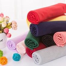 100x160 см, мягкая хлопковая тонкая ткань, стрейч для рукоделия, Швейные аксессуары для изготовления одежды, хлопковая эластичная подкладка