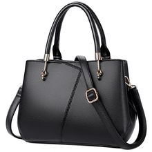 2019 New Genuine Leather Handbag Women Luxury Shoulder Bag Small Female Crossbody Tote Bags For Women Handbags Black Bolsas Sac women bags handbag tote over shoulder sling messenge crossbody leather motorcycle shell casual fringe girl small black female