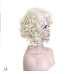 Image 3 - Hairjoy人工毛ブロンドマリー · アントワネット王女のかつらのためのハロウィン衣装
