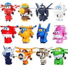 С рисунками героев из мультфильма «Супер Крылья», движущаяся фигурка, игрушка 19 видов стилей мини крыла самолета деформации робот игрушка т...