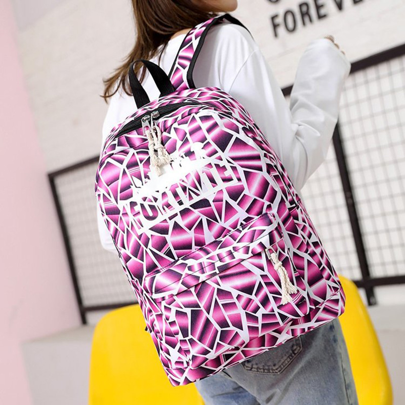 Brand Design Large Capacity Women Student Bag Student Backpack Fashion Computer Backpack Casual Girl College Style Back Pack