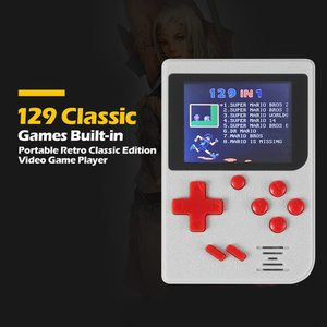 Image 4 - Handheld Game Player 8bit Video Game Console Game Player Built in 129 Games