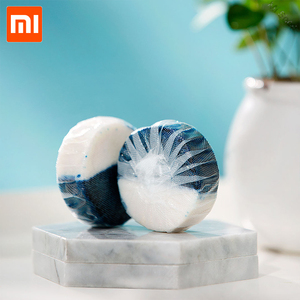 Image 4 - Xiaomi Mijia Disposable Magic Automatic Flush Toilet For Cleaner Helper Fragrant Ball Blue Bubble Cleaning Deodorizes Clean
