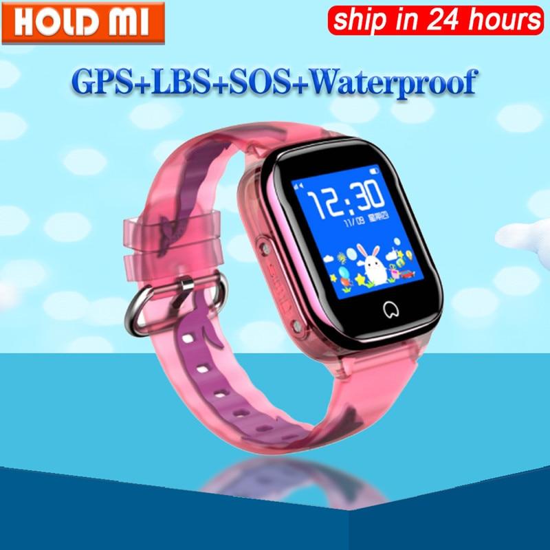 K21 Smart GPS Watch Kids 2019 New IP67 Waterproof SOS Phone Smart Watch Children GPS Clock Fit SIM Card IOS Android Wristwatch
