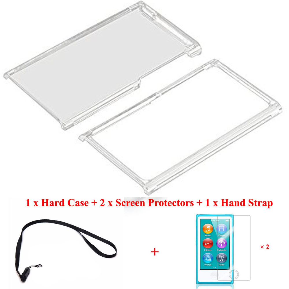 Running Camel Clear Transparent Hard Front Back Full Plastic Cover Shell Case For Apple iPod Nano 7 7TH 8 8TH Generation + Films(China)