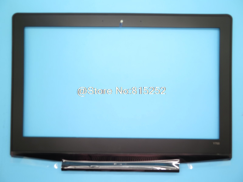 Laptop LCD Front Bezel For <font><b>Lenovo</b></font> For Ideapad <font><b>Y700</b></font> <font><b>Y700</b></font>-14 <font><b>Y700</b></font>-14ISK 80NU 5B30K44721 AP1F6000200 Screen Frame <font><b>Case</b></font> Cover New image