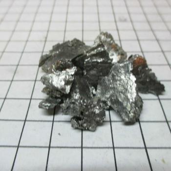 Gadolinium Metal 99.9% puro 10 gramos para la colección de elementos