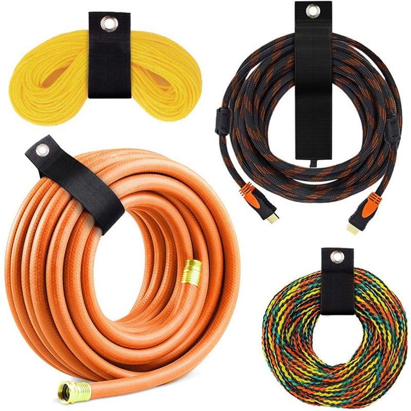 Многоразовый ремень для хранения, кабельные стяжки, крепление кабеля, ремни, проволочный Органайзер, ремень для управления, кабель на липуч...