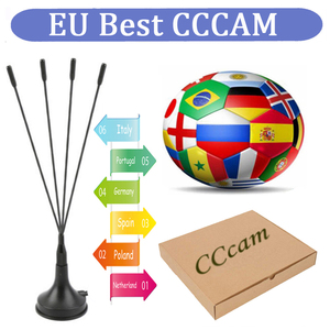 Europe Receptor Cccams lines for 1 year spain used for DVB-S2 Ccams satellite receiver europe channels 4/6 lines(China)