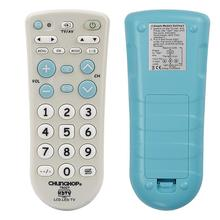 אוניברסלי אינפרא אדום IR מקלט הטלוויזיה שלט רחוק סופר תואם Chunghop גבוהה באיכות TR007 גדול כפתורי גדול מפתחות