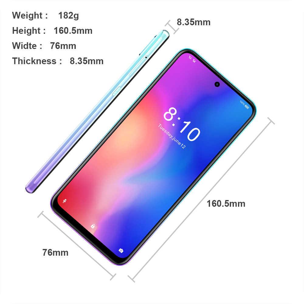 HOMTOM P30 pro Android 9,0, 4G мобильный телефон MT6763, четыре ядра, 4 ГБ, 64 ГБ, 4000 мА/ч, 6,41 дюйма, распознавание лица, 13 МП + Тройная камера, смартфон
