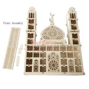 Image 5 - EID Mubarak Tracker Count Down Maulid al Nabi Wood Calendar Masjid Hajj Mubarak Islamic Muslim Festival Decorations for Home