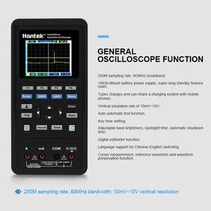Image 3 - Hantek 2D82auto car oscilloscope 4 in 1 2 Channels Portable digital oscilloscope + Multimeter +Automotive Diagnosis+Handheld