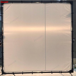 Soft light curtain 2.4*2.4 meters butterfly frame cross lattice butterfly cloth with carry bag 8*8 soft light screen CD50 T03