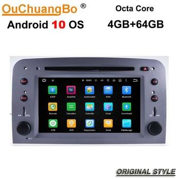 Ouchuangbo-reproductor de audio para Alfa Romeo 147 GT, con sistema Android 10,...