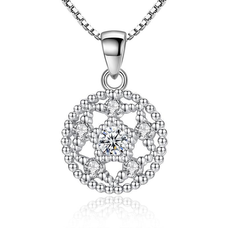 CAB24 pour NL vente chaude bijoux 925 argent collier pour femme et homme 45cm chaîne 18k plaqué or