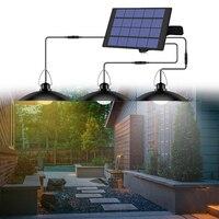 Solar Licht Schuppen Lichter Mit Panel Garten Lampe Wasserdichte Outdoor Indoor Solar Powered Hängen Lichter 9,8 FT Kabel Decke Veranda