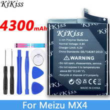 Bt40 4300mah bateria de alta capacidade para meizu mx4 bateria mx 4 m460 m461 telefone móvel