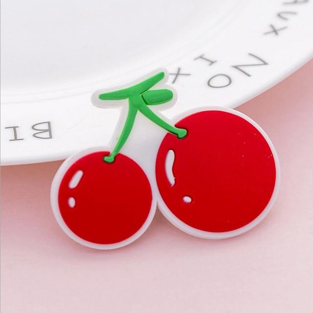 Kawaii Cartoon Magnet Fridge Magnets Decor for Refrigerator Fruit Sticker Magnets Message Board Magnet Children Home Decoration